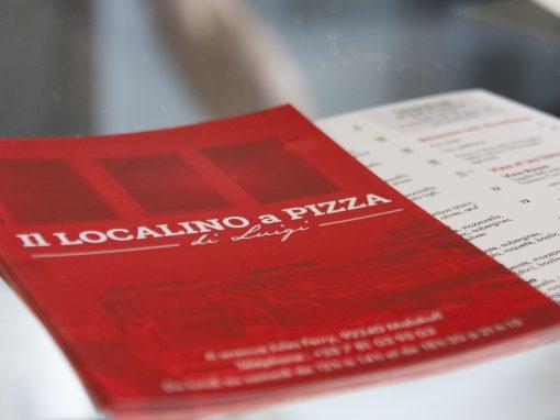 Il Localino a pizza di Luigi