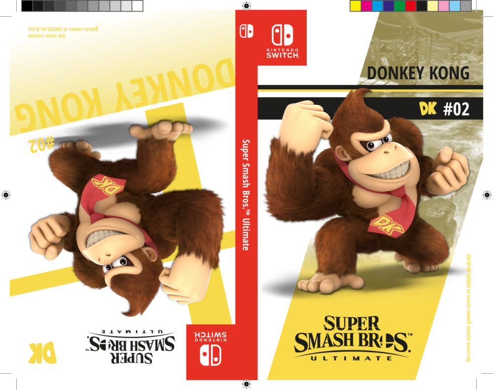SwitchCustomGamesCovers_SSBU_Donkey-Kong-1